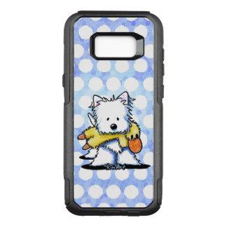 KiniArt Westie n Duck Toy OtterBox Commuter Samsung Galaxy S8+ Case