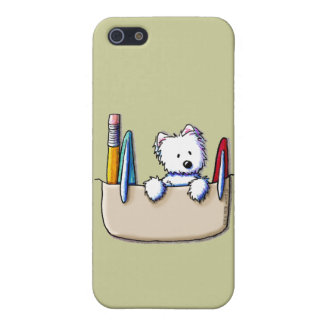 KiniArt Westie Pocket Protector iPhone 5 Case