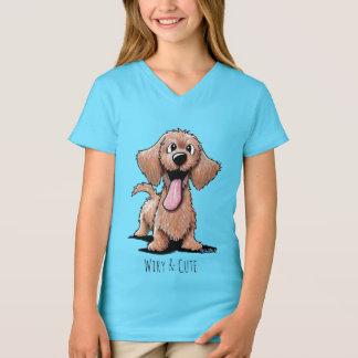 KiniArt Wirehaired Dachshund T-Shirt