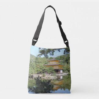 Kinkakuji Temple Cross-Body Tote