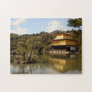 Kinkakuji (The Golden Pavilion) Jigsaw Puzzle