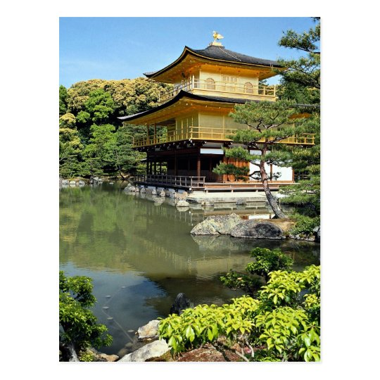 Kinkakuji, the Golden Pavilion, Kyoto, Japan Postcard
