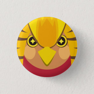 kinkei - Golden pheasant 1 Inch Round Button
