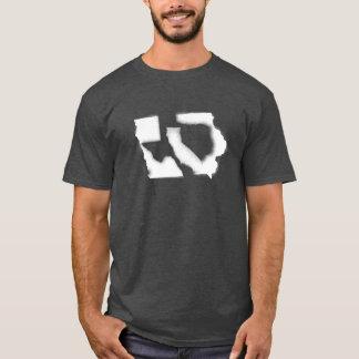 Kinky Geography: Iowa Texas California T-Shirt