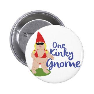 Kinky Gnome 2 Inch Round Button