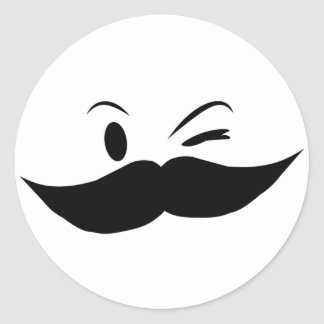 Kinky Mustache Stickers
