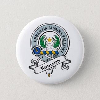 Kinnaird Clan Badge 2 Inch Round Button