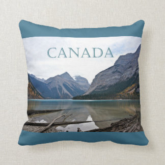 Kinney Lake, Canada Throw Pillow