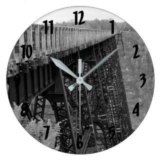 Kinzua Skywalk Large Clock