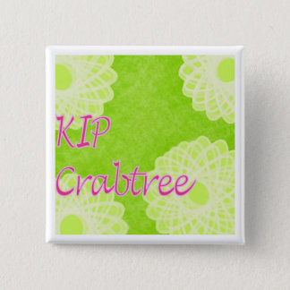 KIP Crabtree 2 Inch Square Button