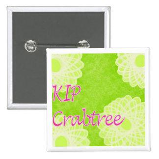 KIP Crabtree 2 Inch Square Button
