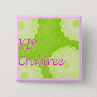 KIP Crabtree Knitting 2 Inch Square Button