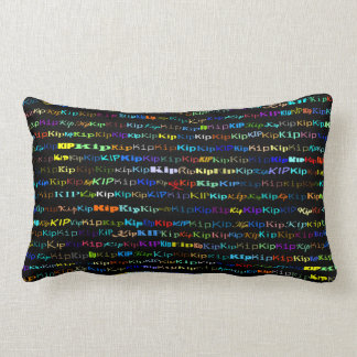 Kip Text Design I Lumbar Pillow