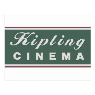 Kipling Cinema Logo Postcard