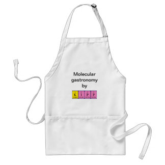 Kipp periodic table name apron