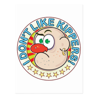 Kippers Grumpy Postcard