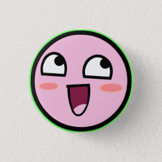 kirby awesome 1 inch round button
