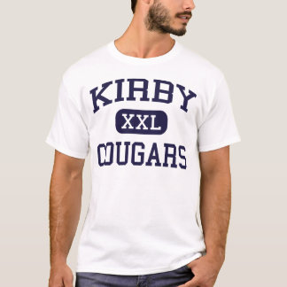 Kirby - Cougars - High School - Memphis Tennessee T-Shirt