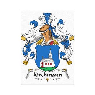 Kirchmann Family Crest Canvas Print