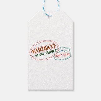 Kiribati Been There Done That Gift Tags