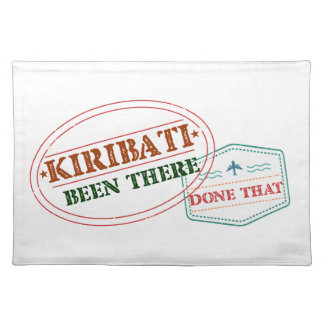 Kiribati Been There Done That Place Mat