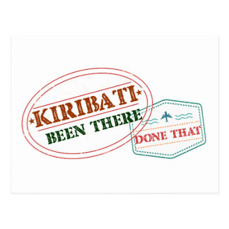 Kiribati Been There Done That Postcard