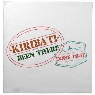 Kiribati Been There Done That Printed Napkin