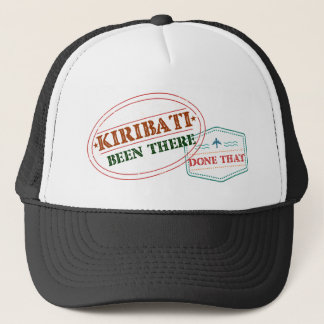 Kiribati Been There Done That Trucker Hat