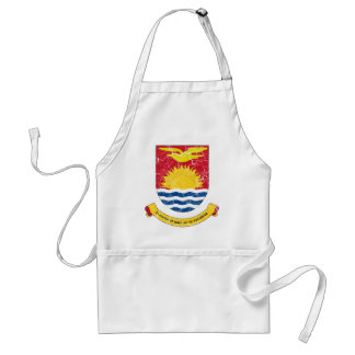 Kiribati Coat Of Arms Standard Apron
