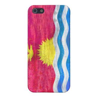 Kiribati distressed flag cover for iPhone 5/5S