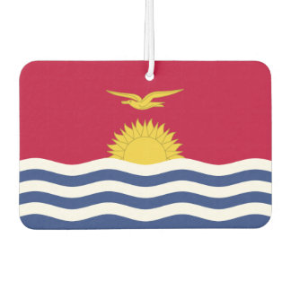 Kiribati Flag Air Freshener