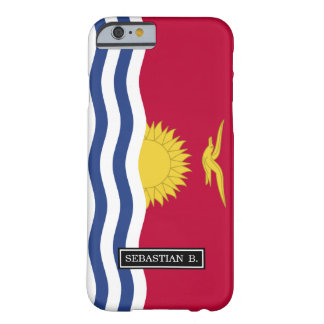 Kiribati Flag Barely There iPhone 6 Case