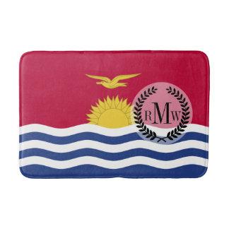 Kiribati Flag Bath Mat
