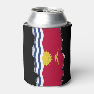 Kiribati Flag Can Cooler