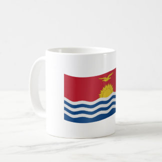 Kiribati Flag Coffee Mug