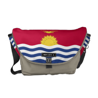 Kiribati Flag Commuter Bags
