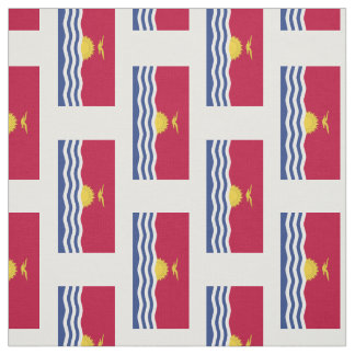 Kiribati Flag Fabric
