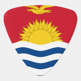 Kiribati Flag Guitar Pick