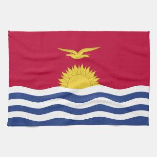 Kiribati Flag Kitchen Towel