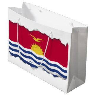 Kiribati Flag Large Gift Bag