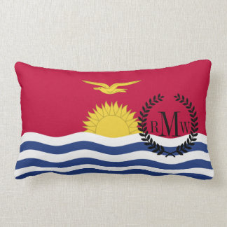 Kiribati Flag Lumbar Pillow