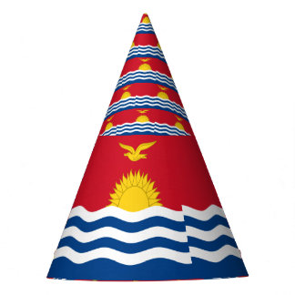 Kiribati Flag Party Hat