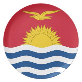 Kiribati Flag Party Plate