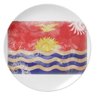 Kiribati Flag Party Plates