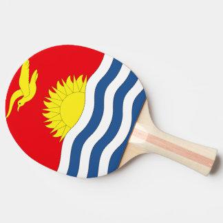 Kiribati Flag Ping-Pong Paddle