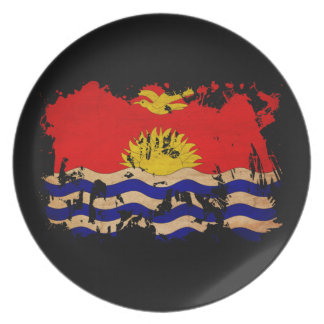 Kiribati Flag Plates