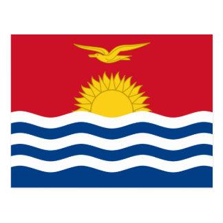 Kiribati Flag Postcard