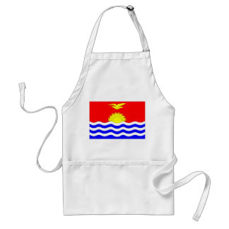 Kiribati Flag Standard Apron