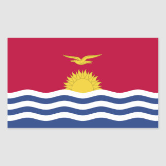 Kiribati Flag Sticker