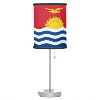 Kiribati Flag Table Lamp